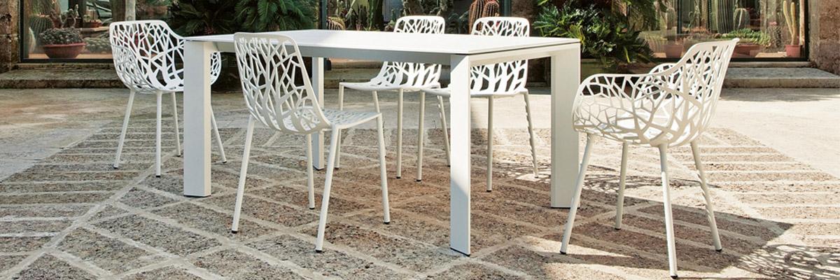 Poltroncine Pieghevoli Da Giardino.Fast Sedie Poltroncine E Tavoli In Alluminio Da Esterno E Giardino