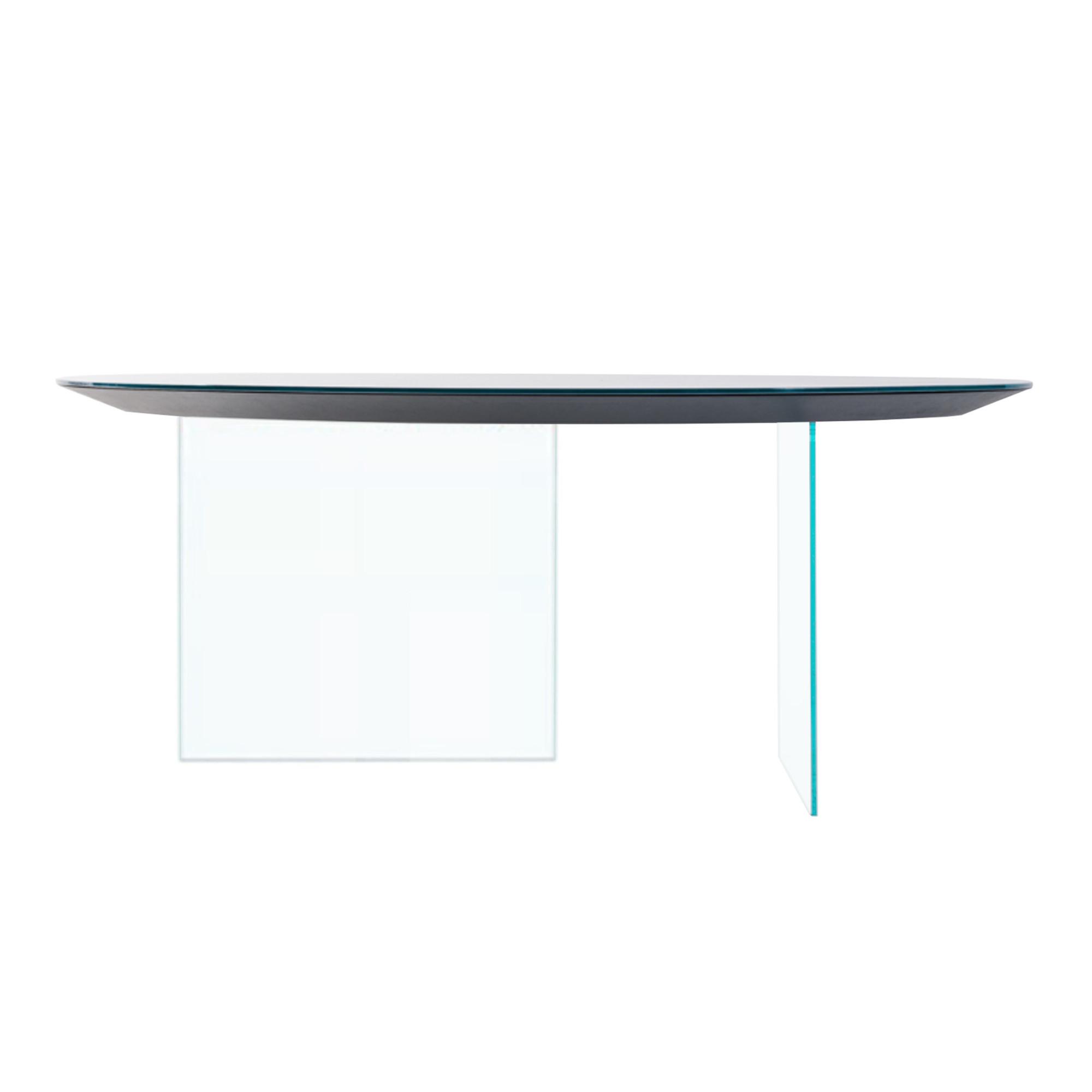Lago AIR GLASS Tavolo Tondo in vetro