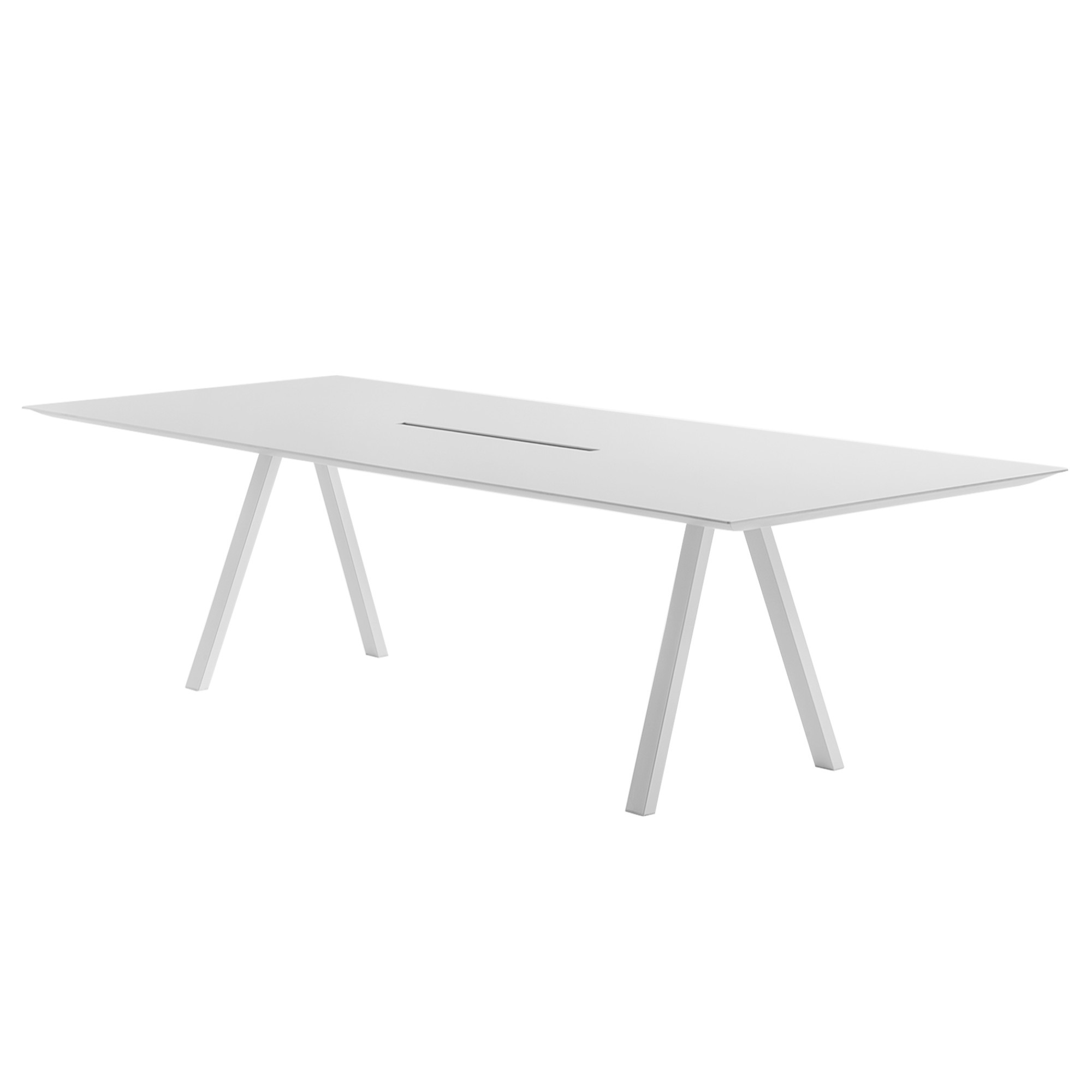 ARKI TABLE CON CANALINA, by PEDRALI