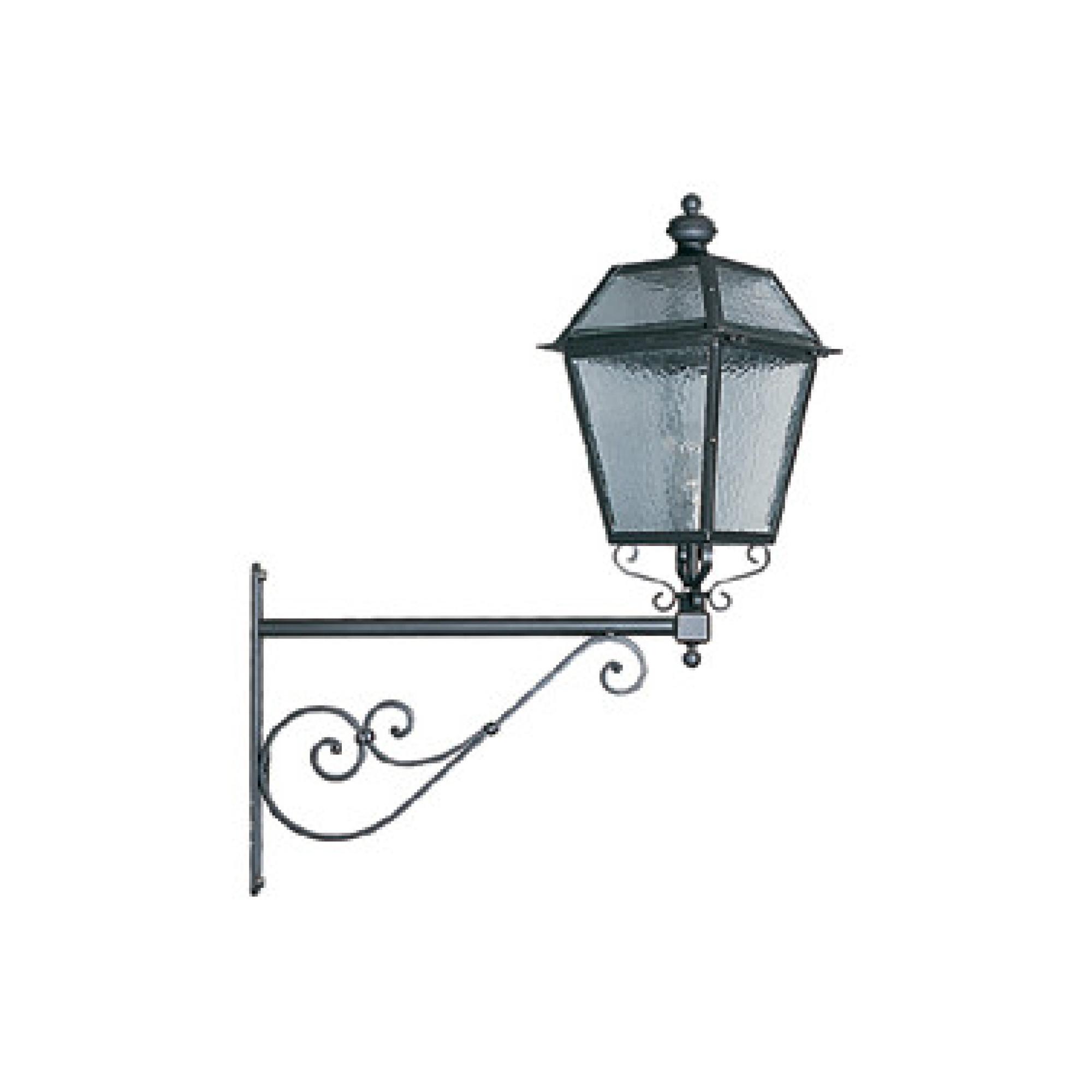 Staffe Angolari In Ferro Battuto.Lanterna Fiorentina Lampade Parete Applique Illuminazione