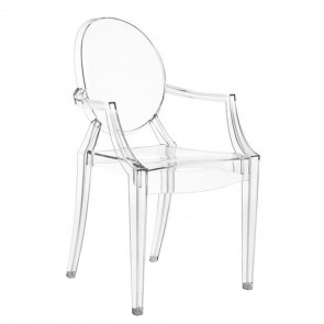 LOUIS GHOST TRASPARENTE CRISTALLO, by KARTELL