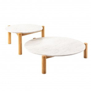 TABLE À PLATEAU INTERCHANGEABLE - OUTDOOR, by CASSINA OUTDOOR