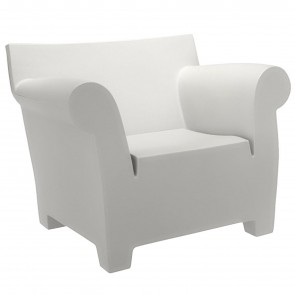 BUBBLE CLUB POLTRONA BIANCA, by KARTELL