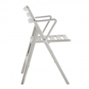 FOLDING AIR CHAIR WITH ARMS, by MAGIS