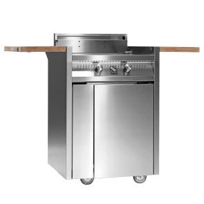 Barbecue in acciaio GREEN di Steel 2 bruciatori