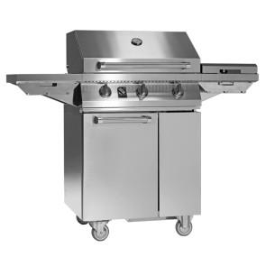 Barbecue in acciaio SWING di Steel 3 bruciatori