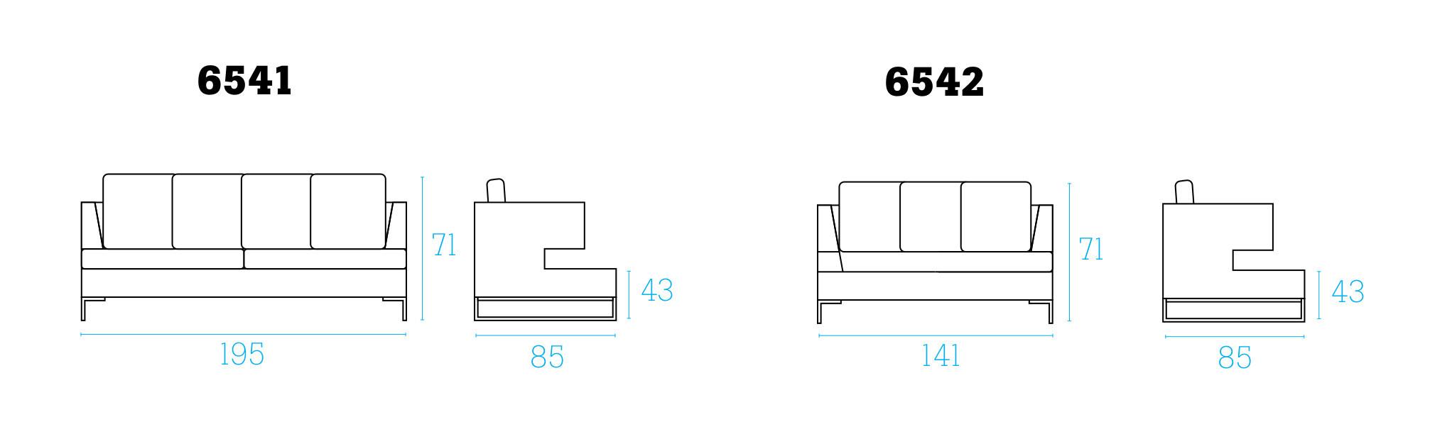 Larghezza divano dimensioni divani con bracciolo large for Divano letto dimensioni ridotte