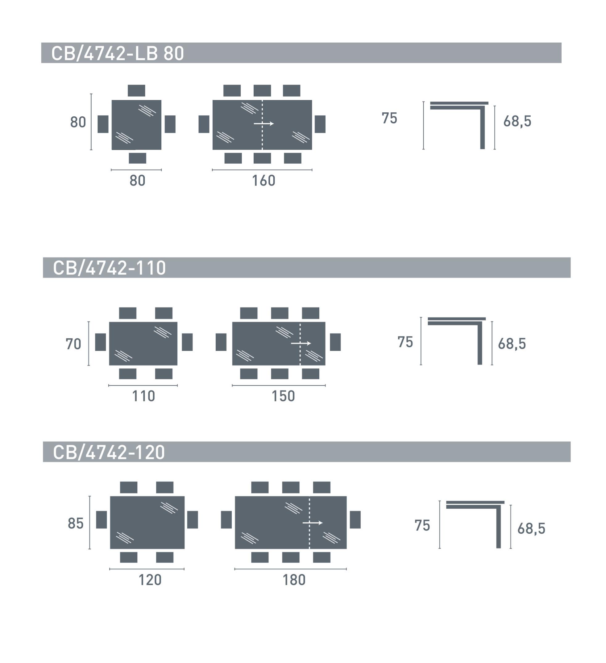 del piano ¨ semplice e permette in pochi passaggi di aggiungere posti a tavola per i vostri ospiti Design Centro R&D O&G a Division of Calligaris