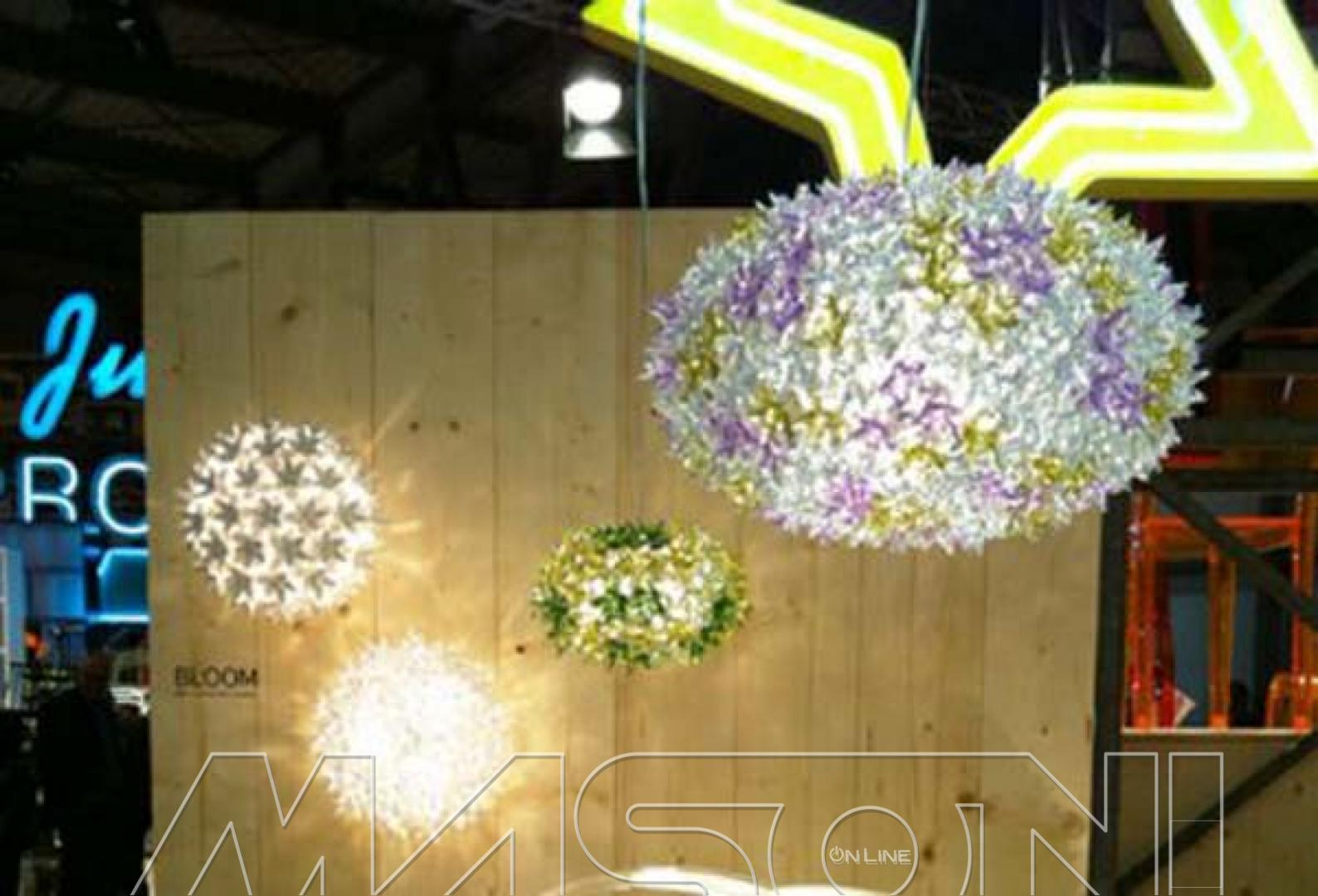 lampadario kartell bloom : BLOOM NEW -Suspended Lamps KARTELL MasoniOnline.it