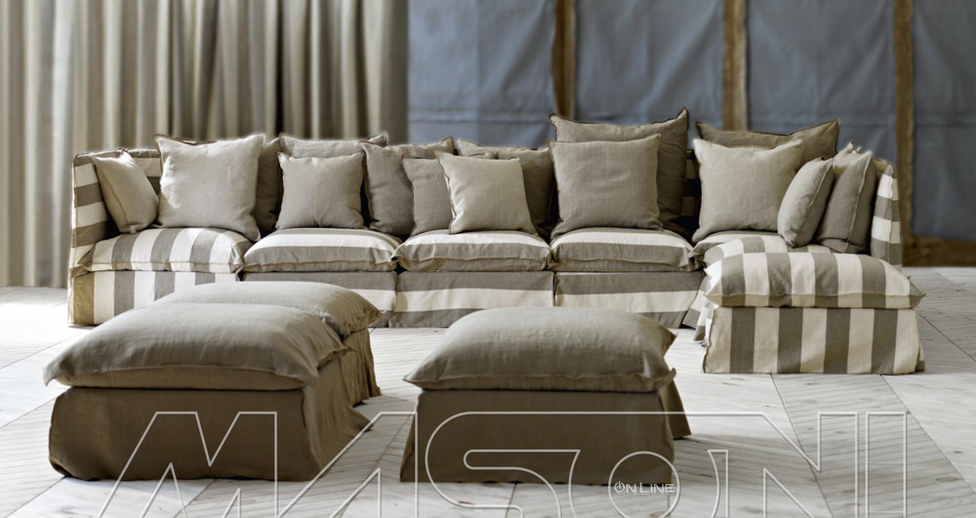 Ghost divani componibili angolari gervasoni for Divano e divani